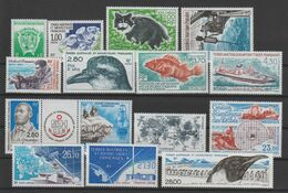 TAAF Année Complète 1994 184-191, 193A Et PA 129-133 ** MNH - Full Years