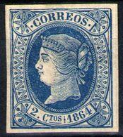 España Nº 63. Año 1854 - Unused Stamps