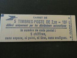 FRANCE Carnet N ° 2274 -C1a **  Type LIBERTE -  2,00 Fr. ROUGE -  Cote : 11 Euros - Uso Corrente