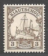 Deutsche Kolonien Karolinen Kiautschou Michel Nummer 5 Postfrisch - Colonie: Kiautchou