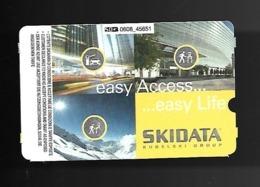 Biglietto Parcheggio - Ticket - Ski Data - Eintrittskarten