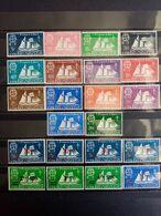 SAINT PIERRE Et MIQUELON. 1942 à 1945. Séries Complètes 22 Timbres Neufs++. Côte Yvert 20,00 € - St.Pedro Y Miquelon