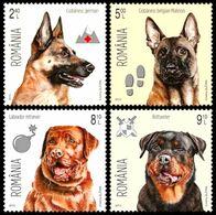 Romania 2015. Dogs. Fauna. Animals.  MNH - 1948-.... Republiken