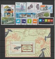TAAF Année Complète 2013 Sans Carnet De Voyage 641 à 660 Et 677 à 685 ** MNH - Full Years