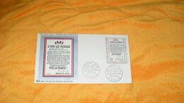 ENVELOPPE FDC DE 1964.../ L'APPEL DU GENERAL DE GAULLE..CACHETS PARIS + TIMBRE - FDC