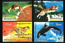 Romania 2015. Champions Of Wildlife.  Fauna. Animals.  MNH - 1948-.... Republiken