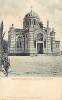 Pays Div- Ref X740- Turquie - Eglise Du Cimetiere Grec ( Gréce - Grece - Greece ) Greek Cimetery - Aya Triada A Taxim - - Turquie