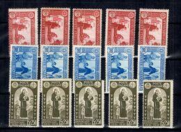 Italie YT N° 277/279 X Cinq Timbres De Chaque Neufs ** MNH. TB. A Saisir! - 1900-44 Victor Emmanuel III