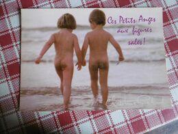 Humour - Enfant Nue - Nude - Ces Petits Anges Aux Figures Sales! - Christine Richard - Humor