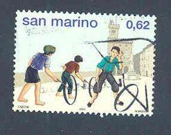 """RSM Fr. USATI 080 - San Marino 2003 - """"AMARCORD"""" 1v. Di € 0,62 - San Marino"""