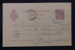 ESPAGNE - Entier Postal De Las Palma Pour La Belgique En 1898  - L 70202 - 1850-1931