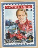 """RSM Fr. USATI 082a - San Marino 2005 - """"NIKI LAUDA"""" 1v. Di € 0,04 - San Marino"""