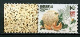 POLYNESIE 2019 N° 1218 ** Neuf MNH Superbe Flore Fruit Senteur Melon - Neufs