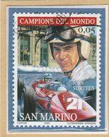 "RSM Fr. USATI 083 - San Marino 2005 - ""JOHN SURTEES"" 1v. Di € 0,05 - San Marino"