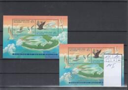 Kokos Inseln Michel Cat.No.  Mnh/** Sheet 14 + 14I Birds - Islas Cocos (Keeling)