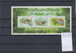Kokos Inseln Michel Cat.No.  Mnh/** Sheet 12 Birds - Cocoseilanden