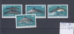 Marshall Inseln Michel Cat.No.  Mnh/** 19/22 - Marshall Islands