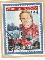 """RSM Fr. USATI 082b - San Marino 2005 - """"NIKI LAUDA"""" 1v. Di € 0,04 - San Marino"""