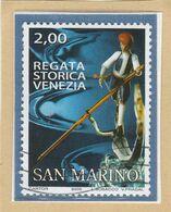"RSM Fr. USATI 084 - San Marino 2005 - ""REGATA STORICA VENEZIA"" 1v. Di € 2,00 - San Marino"