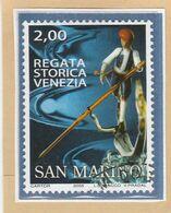 "RSM Fr. USATI 084a - San Marino 2005 - ""REGATA STORICA VENEZIA"" 1v. Di € 2,00 - San Marino"