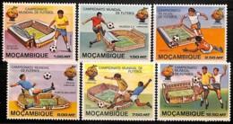 [812905]TB//**/Mnh-Mozambique 1981 - N° 782/87, Coupe Du Monde Espana82, SC, Sports, Football - 1982 – Espagne