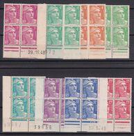 D187/ LOT N° 806/813 BLOC DE 4 NEUF** COTE 45.80€ - Sammlungen