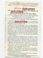 Oorlog Guerre Richard Pringels Lokeren Opperwachtmeester Rijkswacht In Bevolen Dienst Gesneuveld Te Brussel 1945 Politie - Andachtsbilder