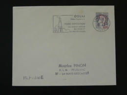 59 Nord Douai Mine Mining 1966 - Flamme Sur Lettre Postmark On Cover - Unclassified