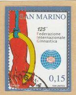 "RSM Fr. USATI 086b - San Marino 2006 - ""FEDERAZ.NE INTER.LE GINNASTICA"" 1v. € 0,15 - San Marino"
