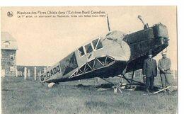 Missions Des Pères Oblats Dans L'Extrême Nord Canadien -Le 1er Avion, En Atterrissant Au Mackenzie, Brisa Son Hélice (Ma - Sin Clasificación