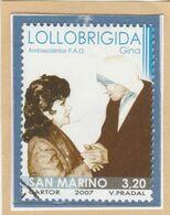 """RSM Fr. USATI 087a - San Marino 2007 - """"GINO LOLLOBRIGIDA"""" 1v. € 3,20 - San Marino"""