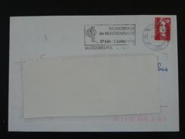 59 Nord Valenciennes Montgolfiades 1995 - Flamme Sur Lettre Postmark On Cover - Montgolfières