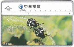TAIWAN B-005 Hologram Chunghwa - Animal, Beetle - 725B - Used - Taiwan (Formosa)