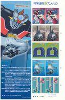 Japon Nº 3558 Al 3562 En Hoja De 2 Series - 1989-... Imperatore Akihito (Periodo Heisei)