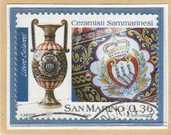 "RSM Fr. USATI 090 - San Marino 2009 - ""CERAMISTI SAMMARINESI"" 1v. Da € 0,36 - San Marino"