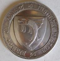 Médaille En Argent .LA DIANA. HISTOIRE & ARCHEO DU FOREZ (42600 MONTBRISON) - Profesionales / De Sociedad