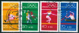 BRD - Mi 734 / 737 - OO Gestempelt (A) - Olympische Spiele 1972 VI - [7] Repubblica Federale