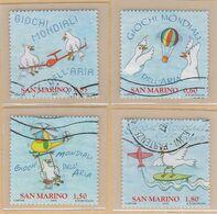 "RSM Fr. USATI 092 - San Marino 2009 - ""GIOCHI MONDIALI"" Serie Di 4.v. Da € 0,60-0,85-1,50-1,80 - San Marino"