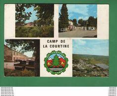 C.P.A  DE CAMP DE LA COURTINE -- 35 ° COMPAGNIE DE CAMP - Reggimenti