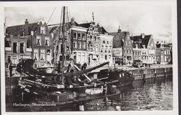 Netherlands PPC Harlingen. Noorderhaven Posthuma's Bockh. Echte Real Photo Véritable (2 Scans) - Harlingen