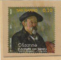 "RSM Fr. USATI 095 - San Marino 2011 - ""CEZANNE"" 1v. Da € 0,10 - Gebraucht"