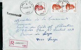 Doc. De LAMBERMONT - A - ( 4852 ) Du 07/10/88 En Rec. ( E ) - Marcophilie