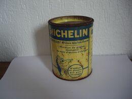 MICHELIN - Bidon - Ancien Pot De Graisse Michelin Marque Tigre - Bibendum - KFZ