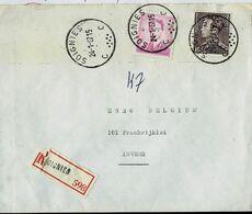 Doc. De SOIGNIES - C C - Du 24/01/67 En Rec. ( E ) - Marcophilie