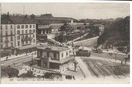 GENEVE La Gare De Cornavin  LL 127 - FR Fribourg