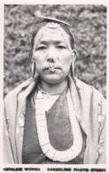 Nepal Ethnic Type Portrait, Nepalese Woman From Darjeeling Photo Stores C1960s/70s Vintage Postcard - Nepal