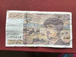 FRANCE Faux Billet De 20 Francs Debussy RARE !!!!!!! - Altri