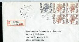 Doc. De STATTE ( HUY ) - A A - Du 28/04/80 En Rec. ( E ) - Marcophilie