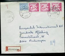 Doc. De STERREBEEK - A A - Du 24/11/70 En Rec. ( E ) - Marcophilie