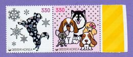 Korea, South 2018. Year Of The Dog. Chinese New Year. MNH - Corea Del Sud